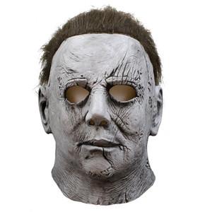Michael Myers Halloween Masque De Latex Mascaras Mascara Realista cosplay masques effrayants mascarade Masque Korku Maskesi Party Maski