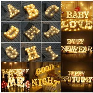Led A-Z Alphabet Brief Licht Wandbehang Nachtlichter Lampe Für Hochzeitsfest-wohnkultur HH9-2089