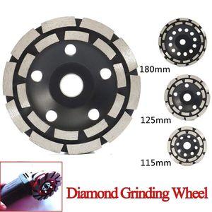 Diamante Grinding Disc Abrasivos concreto Ferramentas Grinder Roda trabalho de metais corte Alvenaria Rodas Cup lâmina de serra
