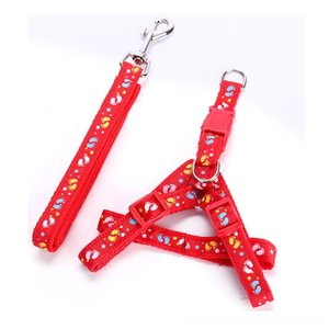 Dog Harnesses & Leads Sets Nylon Running Smalls Supplies Harness Pet Leashes Adjustable Puppy Pet Dog Supplies XS S M