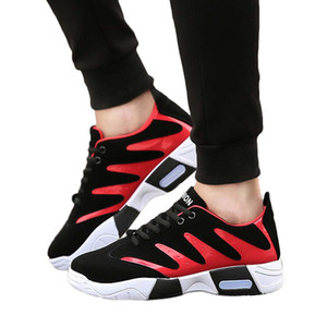 SAGACE Men's Breathable Sneakers Summer Mesh Casual Non-Slip Sport shoes Breathable Platform Student Basketball Shoes 2020 X1231