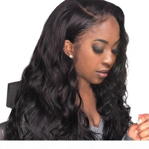 Body Wave Lace Front Wig Brazilian Virgin Human Hair Full Lace Wigs for Women Natural Color