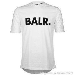 2016 Aufzug eines BALR T-Shirt Tops BALR MenWomen T-Shirt aus 100% Baumwolle Fußball-Sportkleidung Turnhalle Shirts BALR Markenkleidung Excellent