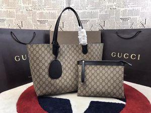 2pcs / set haute qulity classique dames de fleur sacs à main pour femmes fourre-tout composite sacs à bandoulière embrayage en cuir PU sac à main femme avec porte-monnaie