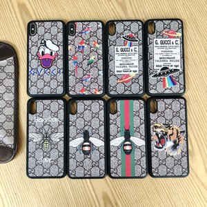 Top-Marke sechs Farben Tier Telefonabdeckung für iPhone 6 6s 7 8 8plus für iphone x xr für iphone11 11Pro 11Pro max