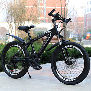 New StyleMountain Bike Students Adult Speed Change Two-Disc Brake Absorber 20-Inch Mountain Bike