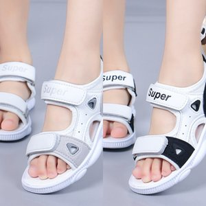 Boys' 2019 versatile casual baby and sandals soft bottom girls' open-toed sandals fashionable