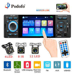 Radio para coche 1din Jsd-3001 Autoradio 4 pulgadas Pantalla táctil Audio Enlace espejo Estéreo Bluetooth Cámara de visión trasera Usb Aux Player