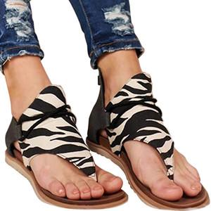 Sandales en cuir Toe orthopédique ouvert pour femme, crochet Comfy Premium et fermeture de boucle Sport Sandal, Arc plat Casual soutien Wedge Chaussures pour Somm