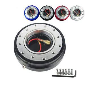 Thin Version 6 Hole Steering Wheel Quick Release Hub Adapter Snap Off Boss kit Car accessories