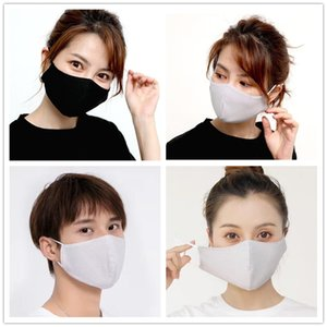 New Ice silk mask dust haze prevention breathable cool and fashionable in summer washable and reusable suitable for menmen and wom