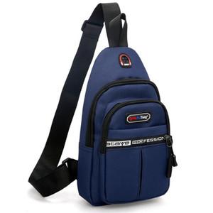2019 Оптовые Мужчины одно плечо наклонная сумка Досуг грудь сумка Оксфорд ткань Женщины мобильный мешок большой емкости SportOutdoor Packs Day Pack Z02