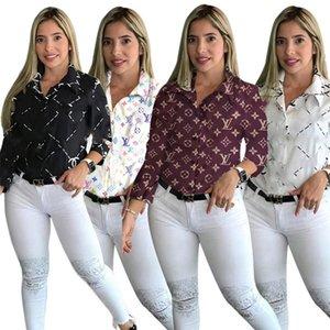 diseñador de las mujeres (con el logotipo) chaquetas resorte de la ropa informal de verano prendas de vestir exteriores de la chaqueta de la rebeca de las camisas S-2XL (sólo tienen capas) de impresión carta de 3301