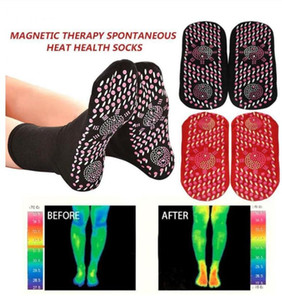 Sport Cyclisme Thicken Ski Chaussettes auto Chauffage thérapie magnétique chaud Sock Tourmaline Les soins de santé pour les hommes Chaussettes chauffants femme