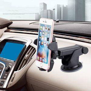 Car Phone Holder ajustável Janela Pára-brisas Painel gravidade automático de fixação titular para iphone Samsung Xiaomi Universal