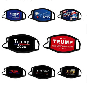 Unisex 3D Cotton Washable And Reusable Face Mask Designer Trump Face Mask Suitable For Adults And Kids With Replaceable 5 Layer GD355