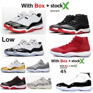 2020 11 منخفضة SE جلد الثعبان 11 11S ولدت 2019 أحذية كرة السلة بارد رمادي الفضاء المربى فوز مثل 96 سبور مع صندوق