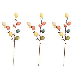 Branches aux oeufs de Pâques 3/6 Décorations élégante décoration florale Arbre aux oeufs de Pâques Décor pour la maison Direction Parure Salon