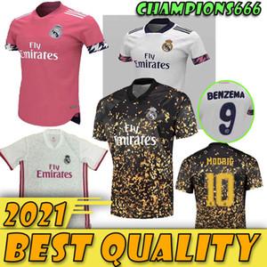 2020 2021 Real Madrid Soccer Jersey Thai Quality Real Madrid 20 21 PERIGO Modric camisas BENZEMA futebol uniformes de futebol personalizadas