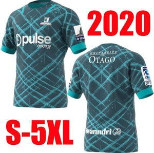 Hot ventes 2020 Highlanders Primeblue Super Rugby maillot 2020 Nouvelle-Zélande de rugby Accueil Maillots League Rugby Jersey chemise ACCUEIL