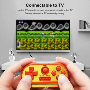Powstro Mipad 90 SM Mini Portable Handheld Game Console Video Games 8 Bit Build-In 20 Classic for NES Games Double Players