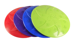 1PCS Star Shape Rubber Dog Training Frisbee Durable Rubber Flying Disc Dog Toy Outdoor Flying Disc For Dog
