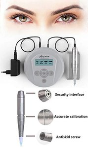 Professionelle Permanent Make-up Kits Tattoo Maschine Artmex V6 V8 V9 Eye Brow Lip Rotary Pen V6 MTS PMU-System Freie 5pcs Nadeln