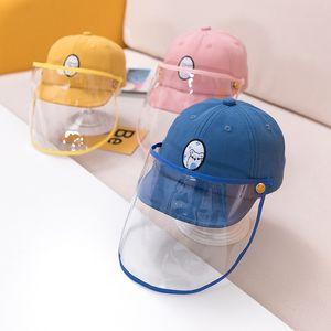 아기 안티 - 안개 모자 봄 새로운 아기 모자 이동식 격리 아동 보호 캡 도매 모자 둘레에 46cm (조정 44-48cm)
