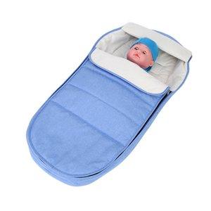 2020 Hot Baby Stroller Sleeping Bag Thicken Stroller Foot Muff Pad Windproof Footmuff for Warm Baby Pram Sleeping Sacks
