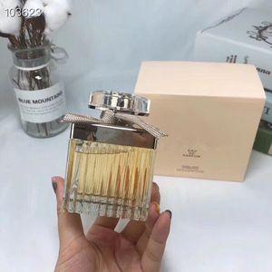 Yeni kaliteli bayan parfüm uzun EDP75ML sarı ipek şerit hızlı teslimat taze koku asil kadın parfüm kalıcı