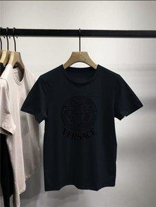 mens designer swim shorts tee Shirt Men Women 3D Floral Print T-shirt Baseball Jersey Street Casual Down Tops ver̹sace