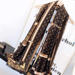 Новая роскошный шарф шаль женщины и мужчины бренд мужского Plaidдизайнер шарф Мода Женщины шарфы шелковый 180x70cm écharpe люксусный
