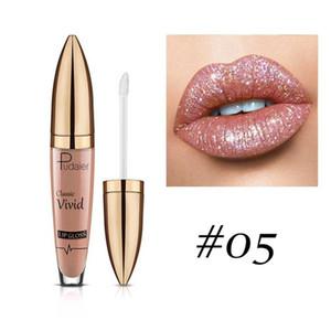 Diamond Shiny Glitter Lip Gloss Classic Vivid Lipgloss Non Sticky Sipping Flip Magic Lips Makeup Pudaier