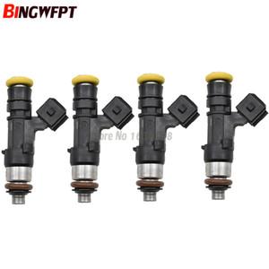 4 adet Yüksek performanslı ev1 2200cc 210lbs CNG yakıt enjektörü 0280158830 0280158829 Metan GAZ benzin e85 yarış