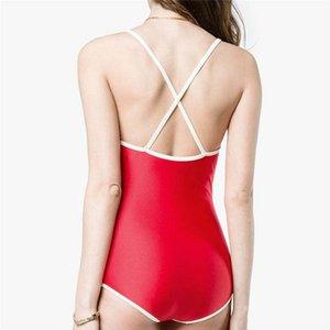Дизайнер Sexy Lady Бикини Купальники Brand Letter Printed Марка Купальники бикини для женщин Роскошных Двухсекционного Женского бикини купального костюма