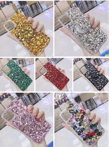 Case Cover Bling I diamanti pietre di cristallo strass 3D telefono per l'iPhone 11 Pro Max 2019 il trasporto libero