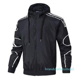 2019 Designer Jacket Mens Brand Fashion Hoodie Jacket Luxury Windbreaker Men Women Long Sleeve Zipper Coat Designer Jacket Coat B100997K