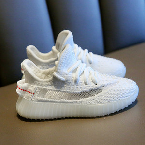 Kids Shoes Sneakers Toddler Kanye West Run Shoes Infant Baby Children Youth Boys and Girls Chaussures Pour Enfants