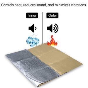Capilla del coche motor de firewall Heat Mat deadener aislamiento acústico MATERIAL FONOABSORBENTE interior de sonido Aislamiento térmico de algodón