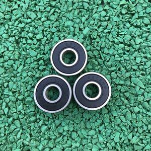 100 pçs / lote 607-2RS 607RS 607 2RS RS 7x19x6mm Sulco Profundo rolamento de esferas de Borracha Em Miniatura selo para peças de impressora 3D 7 * 19 * 6mm