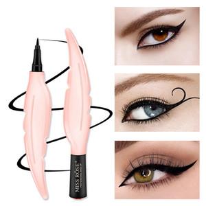 الأزياء السائل العين اينر ختم ماء التجميل طويل الأمد القط العين كحل المكياج الطبيعي العين بطانة RRA1216
