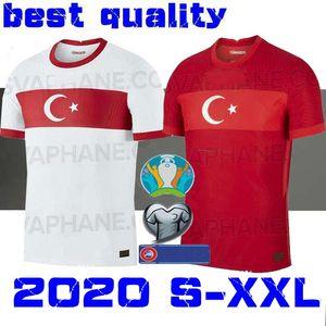 2020 Turchia maglia da calcio ARDA INAN Tosun TUFAN ERKIN MALLI TOPA Calhanoglu Öztekin Custom Home Red CALCIO camicia uniforme 20 21