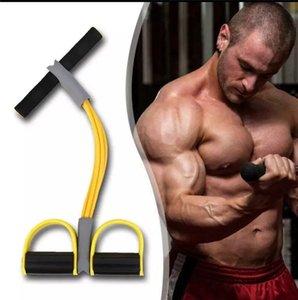 многофункциональный регулируемый двухтактный Канат 2/4 strand sit-up tensioner фитнес аксессуары резинки для спортивных упражнений