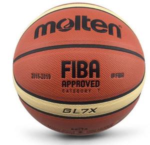 Molten Basketball officiel balle de plein air Taille intérieur 7/6/5 en cuir PU Basketball A +++ Basketball Qualité basquete Basketbol