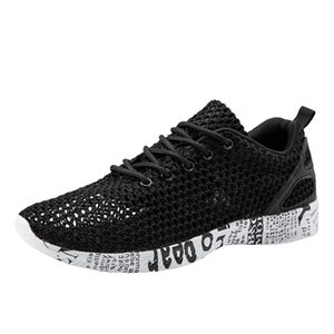 SAGACE Sneakers Men Outdoor Comfortable Mesh Hollow Casual Sports Shoes Non-Slip Run Breathable Summer Shoes Sneakers X1226