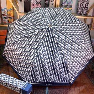 2019 низкая цена продать высокое качество дождевик luxurys лучшие бренды дизайнеры стиль зонтик с коробкой бесплатная доставка