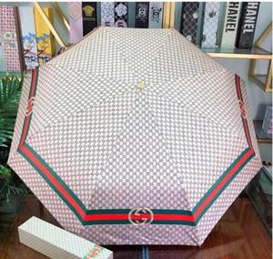 O transporte da gota 2020 New Atacado e varejo de alta qualidade Popular guarda-chuva estilo top Cor engrenagem misturando chuva Com a caixa