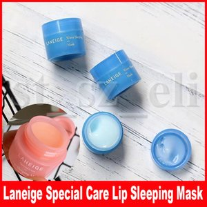 Laneige Special Care Lip Sleeping Mask Bálsamo labial Lipstick 3g y Water Sleeping Mask Overnight Small Size 15ml