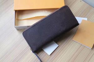Venta caliente de las mujeres de lujo de la muchacha Monedero Bolso de moda bolsa de cuero auténtico retro monedero M604742