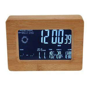 Intelligent WiFi LCD Digital Display Alarm Clock